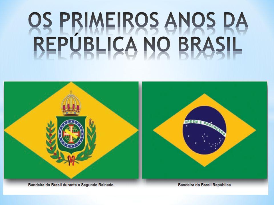 * Mesmo com o ‡ fim da Monarquia e o início do período republicano houve muitas continuidades na estrutura econômica, política e social do Brasil.