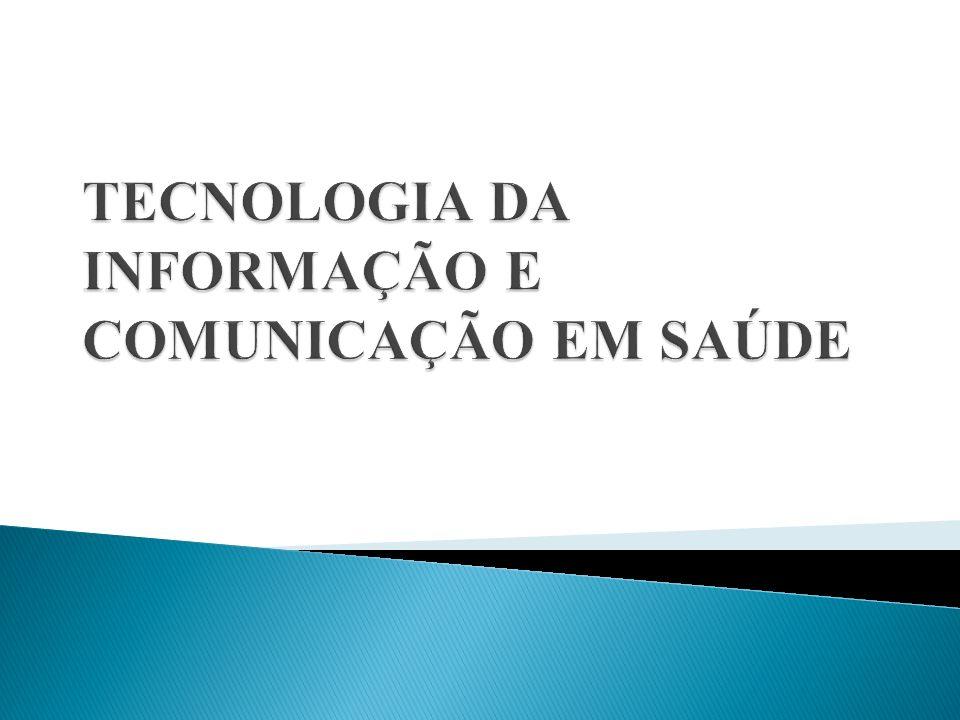 A utilização de tecnologias de informação e comunicação no campo da saúde constitui-se como um elemento essencial para a promoção de modos de relacionamento mais seguros, acessíveis e eficientes com os cuidados de saúde.