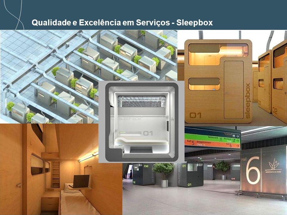 28 Qualidade e Excelência em Serviços - Sleepbox