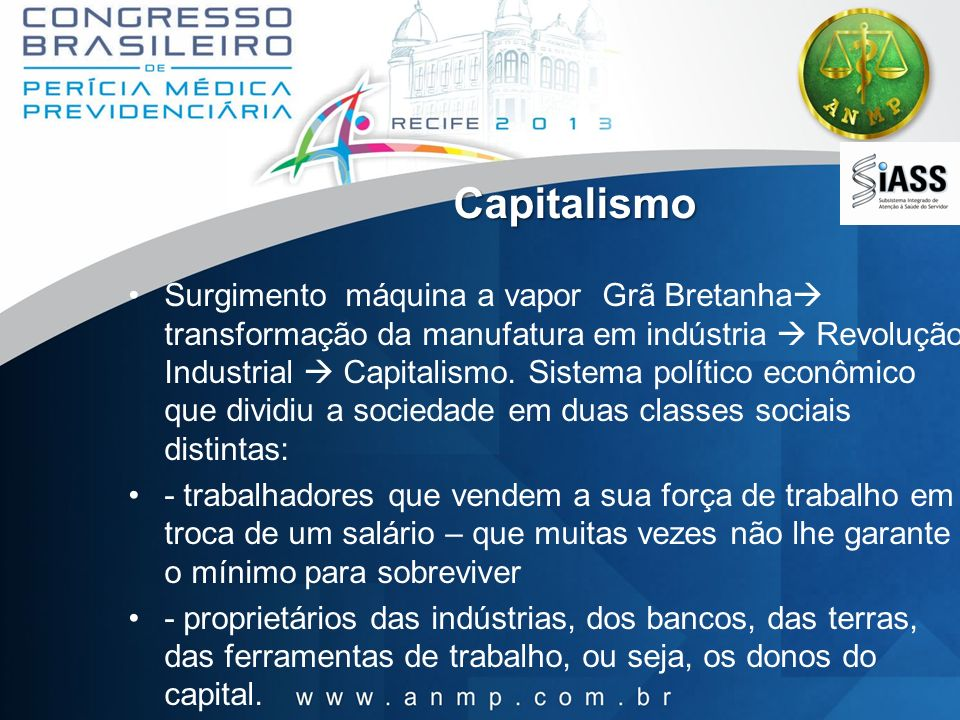 Capitalismo Surgimento máquina a vapor Grã Bretanha transformação da manufatura em indústria Revolução Industrial Capitalismo. Sistema político econôm