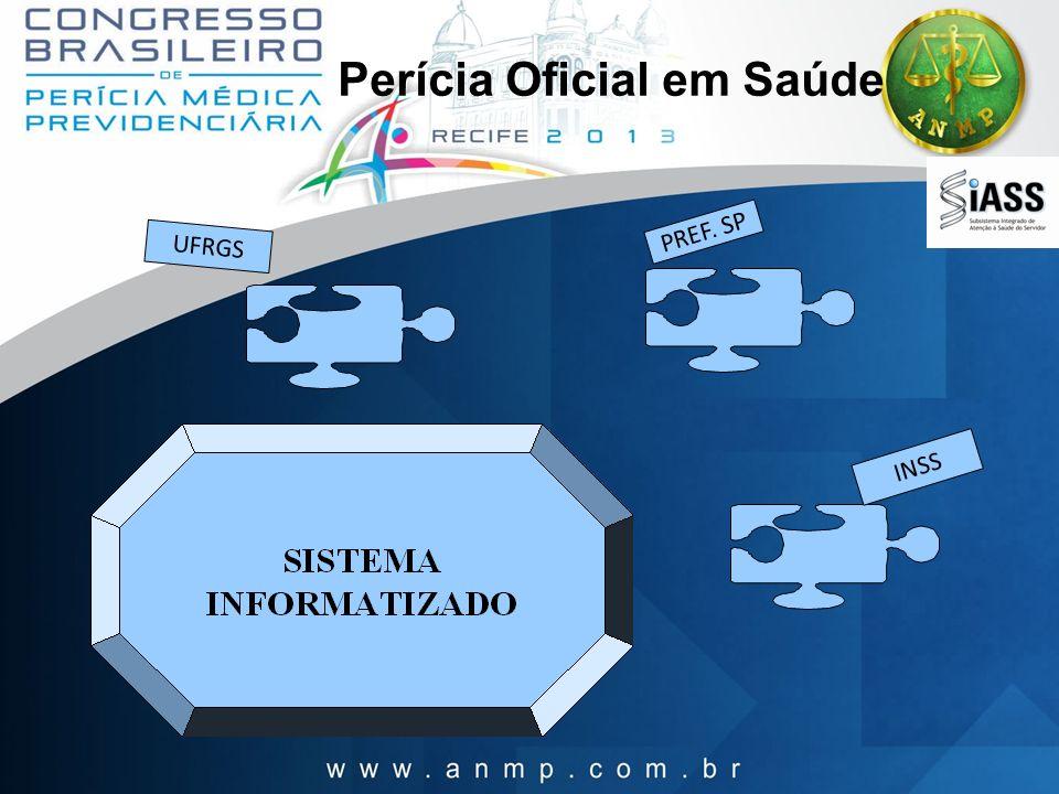 UFRGS PREF. SP INSS Perícia Oficial em Saúde