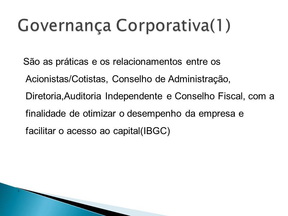 Trata dos objetivos estratégicos e monitora o desempenho para assegurar a concretização desses objetivos(OCDE);