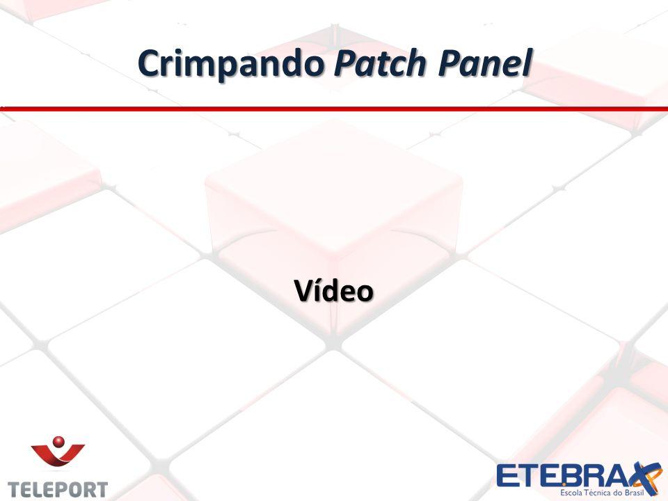 Crimpando Patch Panel Vídeo