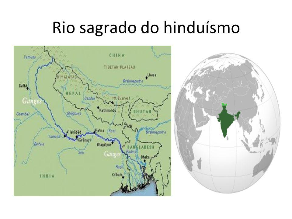 Rio sagrado do hinduísmo