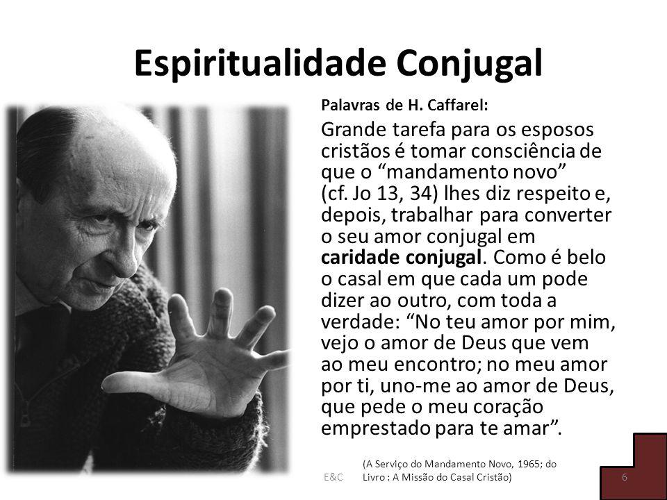 Espiritualidade Conjugal Palavras de H.