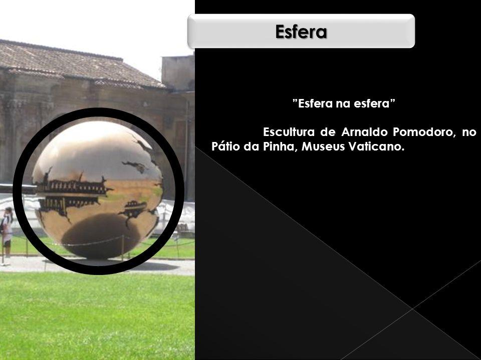 EsferaEsfera Esfera na esfera Escultura de Arnaldo Pomodoro, no Pátio da Pinha, Museus Vaticano.
