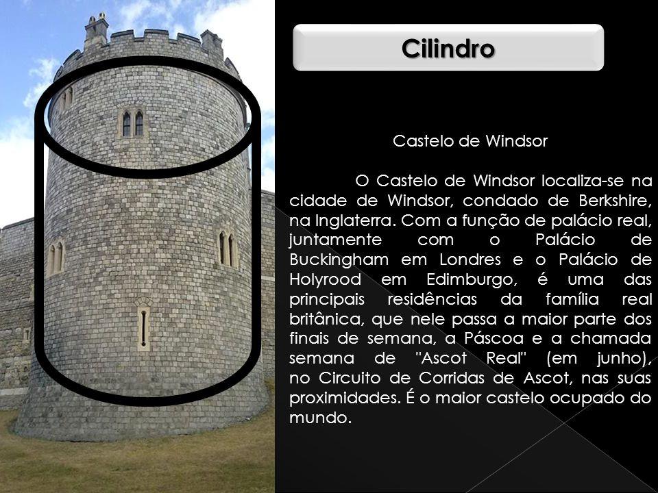 CilindroCilindro Castelo de Windsor O Castelo de Windsor localiza-se na cidade de Windsor, condado de Berkshire, na Inglaterra. Com a função de paláci