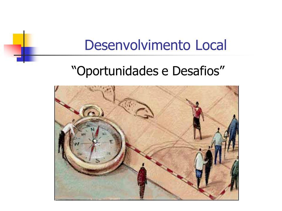 Desenvolvimento Local Oportunidades e Desafios