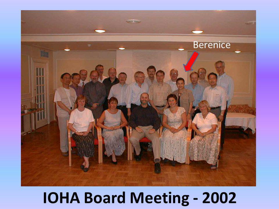 IOHA Board Meeting - 2002 Berenice