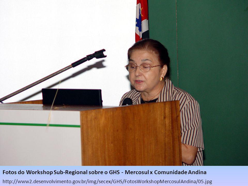 http://www2.desenvolvimento.gov.br/img/secex/GHS/FotosWorkshopMercosulAndina/05.jpg Fotos do Workshop Sub-Regional sobre o GHS - Mercosul x Comunidade
