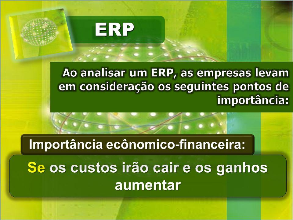 ERPERP Se os custos irão cair e os ganhos aumentar