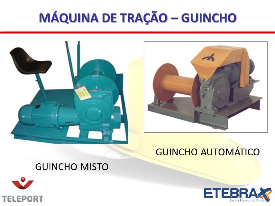 13 MÁQUINA DE TRAÇÃO – GUINCHO GUINCHO AUTOMÁTICO GUINCHO MISTO