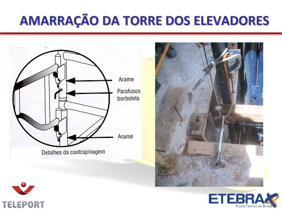19 AMARRAÇÃO DA TORRE DOS ELEVADORES