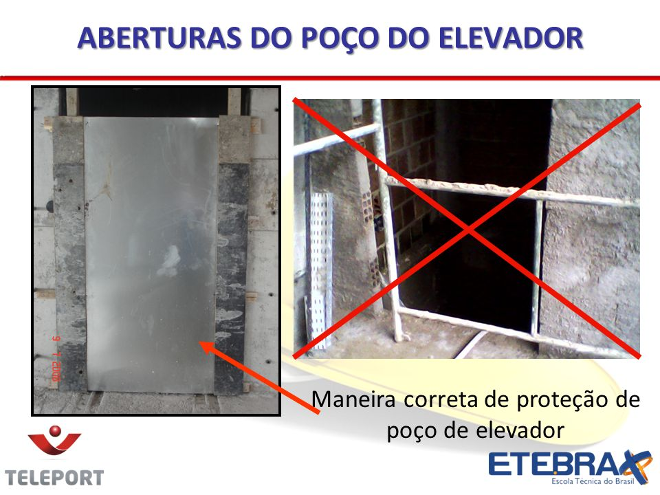 18.13.6 PLATAFORMAS DE PROTEÇÃO - BANDEJAS Instalar em todo perímetro da construção com mais de 4 (quatro) pavimentos ou altura equivalente.