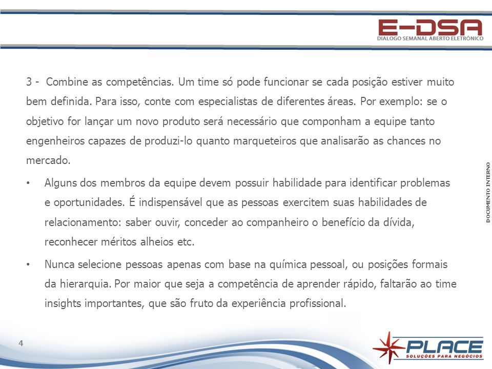 DOCUMENTO INTERNO 4 4 3 - Combine as competências.