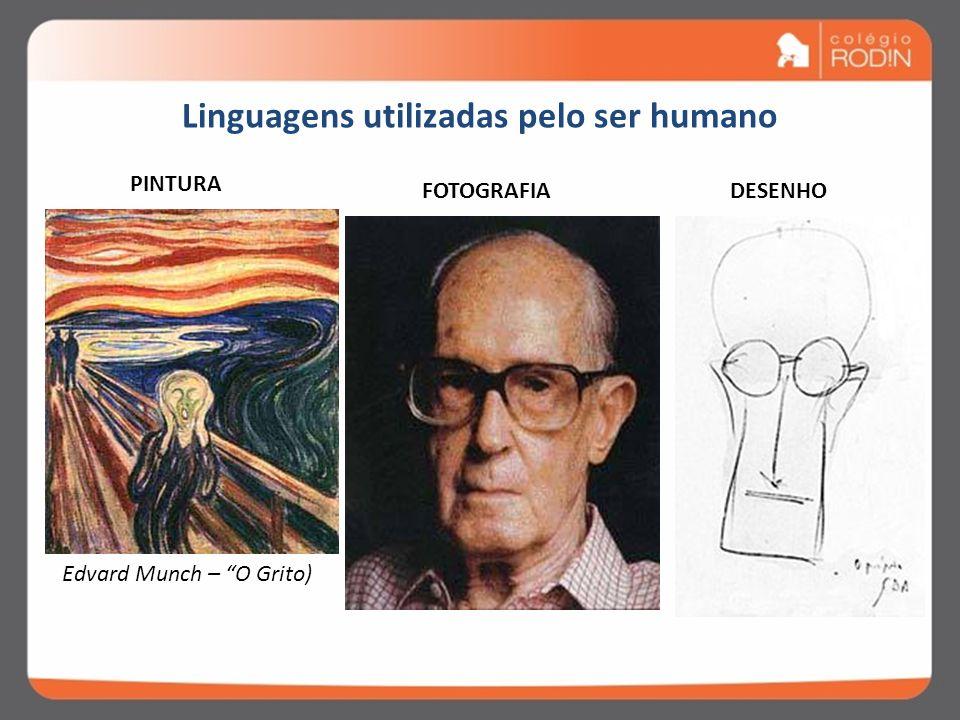 Linguagens utilizadas pelo ser humano ALFABETO HIEROGLÍFICO