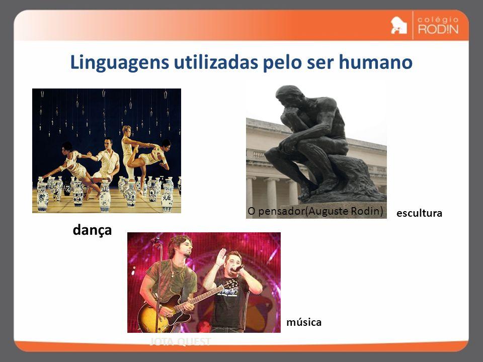 Linguagens utilizadas pelo ser humano EU JURO!ELE ESTÁ BÊBADO! DESCULPA!