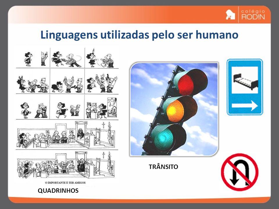 Linguagens utilizadas pelo ser humano TEATRO CINEMA CHARGE