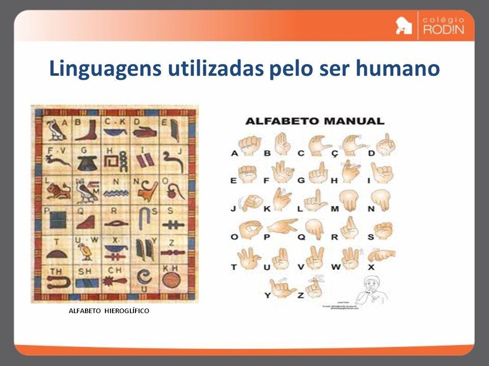 Linguagens utilizadas pelo ser humano QUADRINHOS TRÂNSITO
