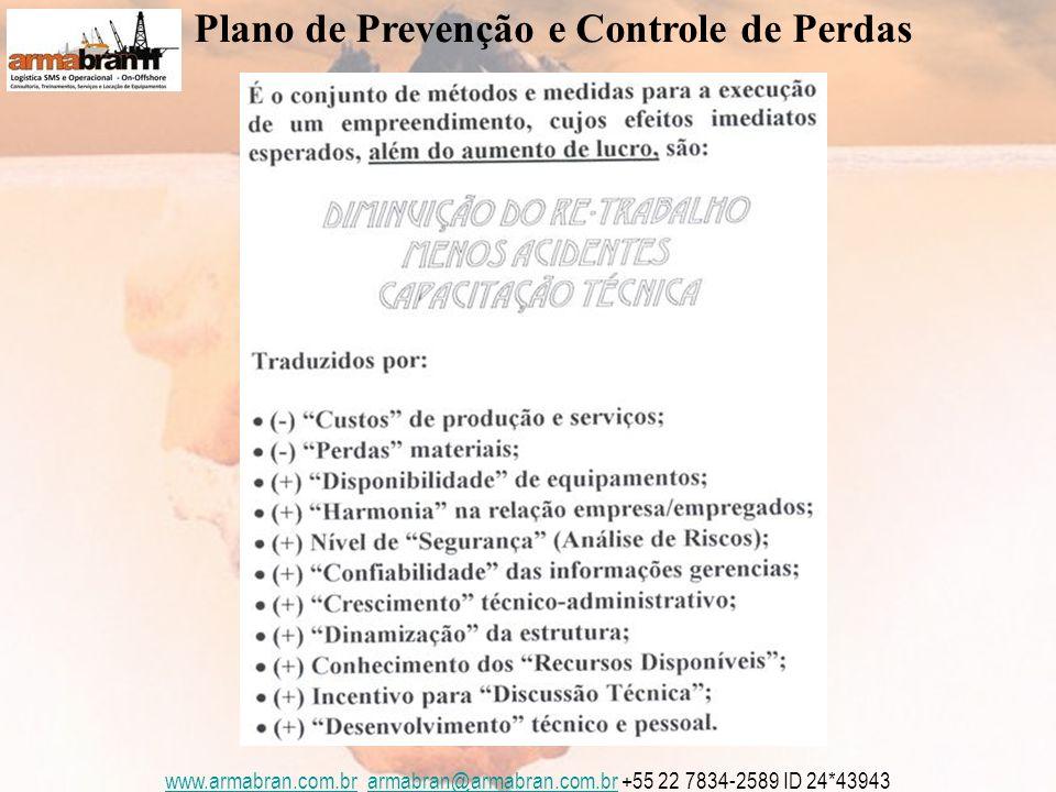 www.armabran.com.brwww.armabran.com.br armabran@armabran.com.br +55 22 7834-2589 ID 24*43943armabran@armabran.com.br Plano de Prevenção e Controle de Perdas