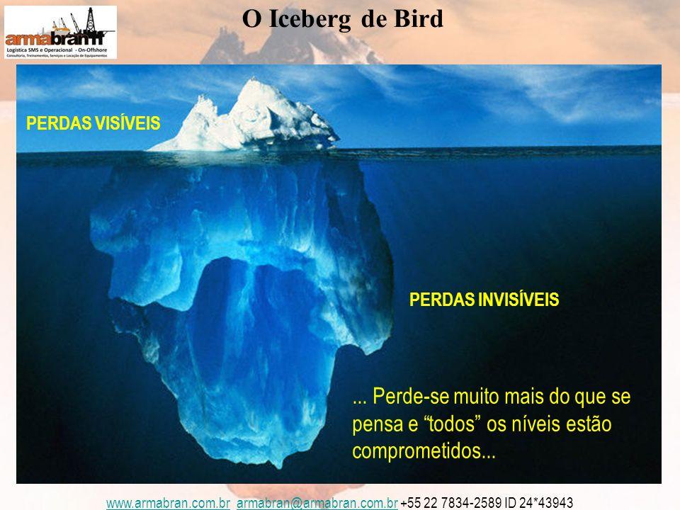 www.armabran.com.brwww.armabran.com.br armabran@armabran.com.br +55 22 7834-2589 ID 24*43943armabran@armabran.com.br PERDAS INVISÍVEIS PERDAS VISÍVEIS O Iceberg de Bird...