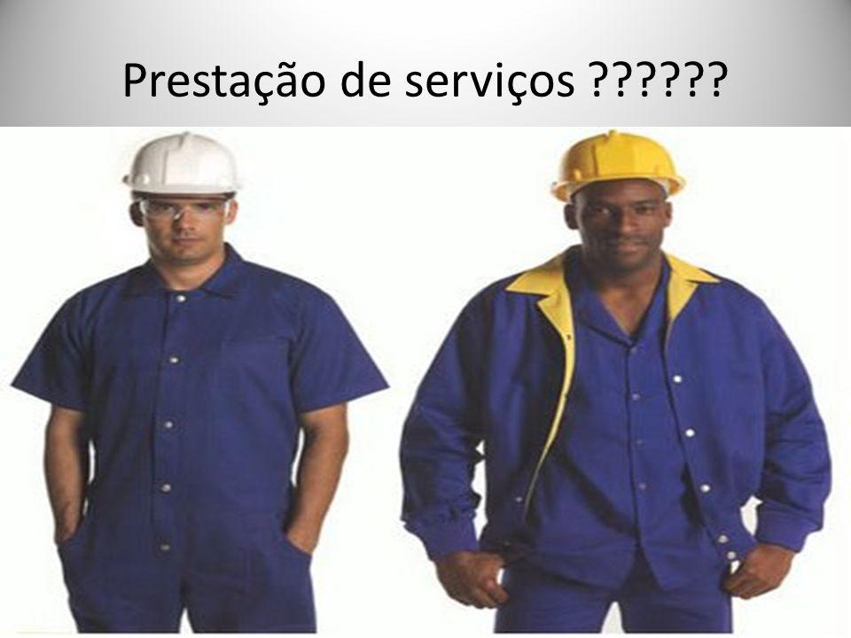 Prestação de serviços ??????