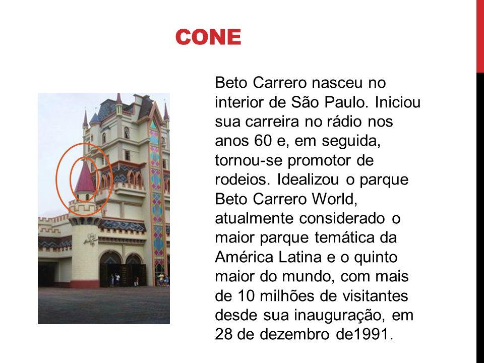 CONE Beto Carrero nasceu no interior de São Paulo. Iniciou sua carreira no rádio nos anos 60 e, em seguida, tornou-se promotor de rodeios. Idealizou o