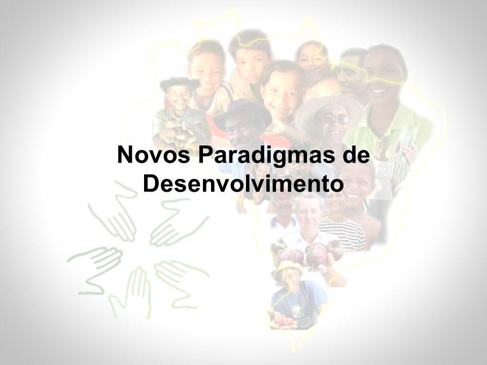 Novos Paradigmas de Desenvolvimento