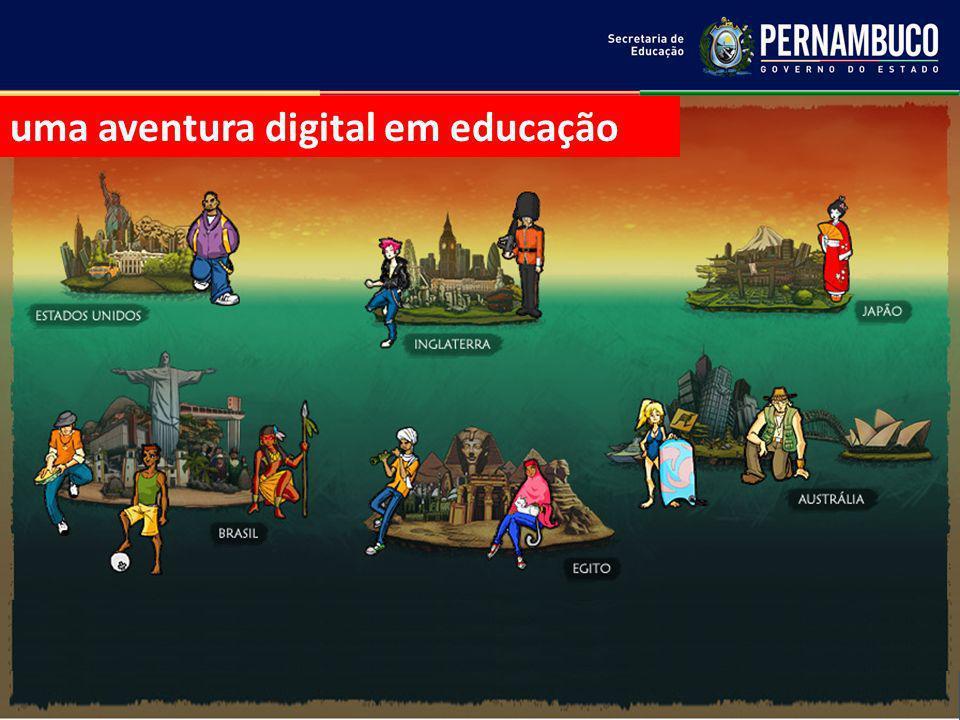 uma aventura digital em educação