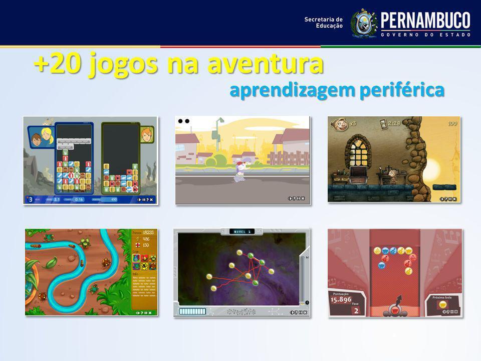 +20 jogos na aventura aprendizagem periférica