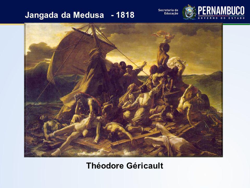 Théodore Géricault Jangada da Medusa - 1818