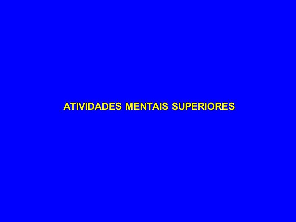 ATIVIDADES MENTAIS SUPERIORES