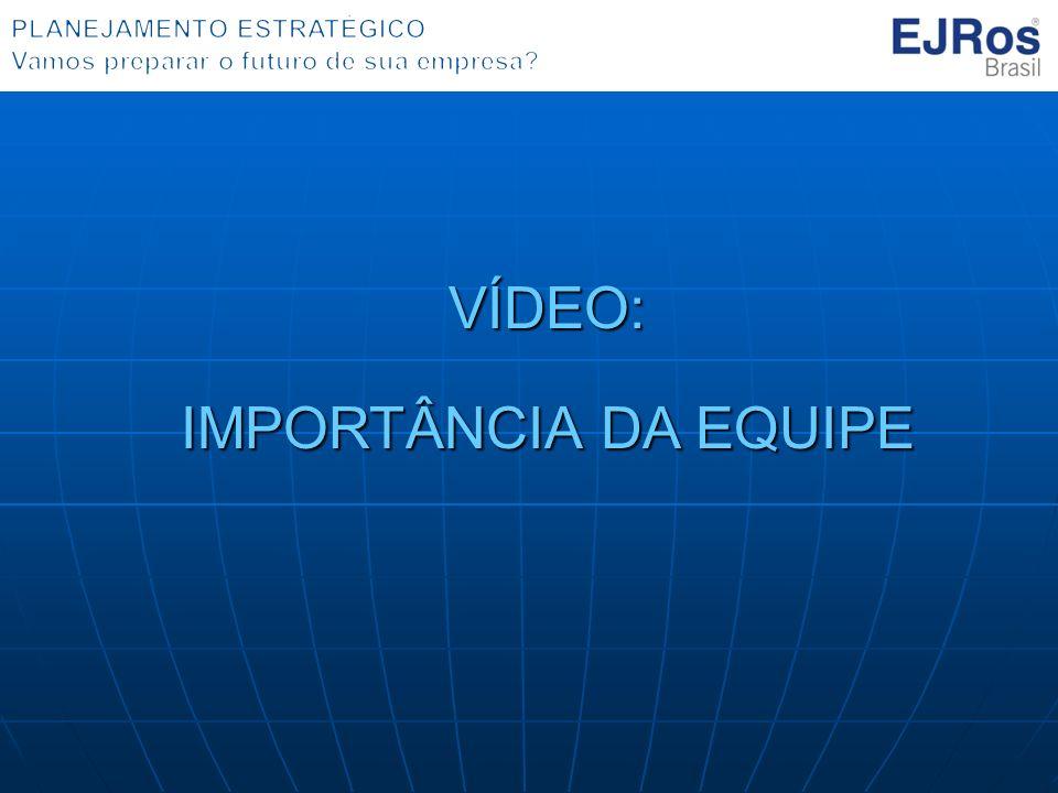 VÍDEO: IMPORTÂNCIA DA EQUIPE IMPORTÂNCIA DA EQUIPE