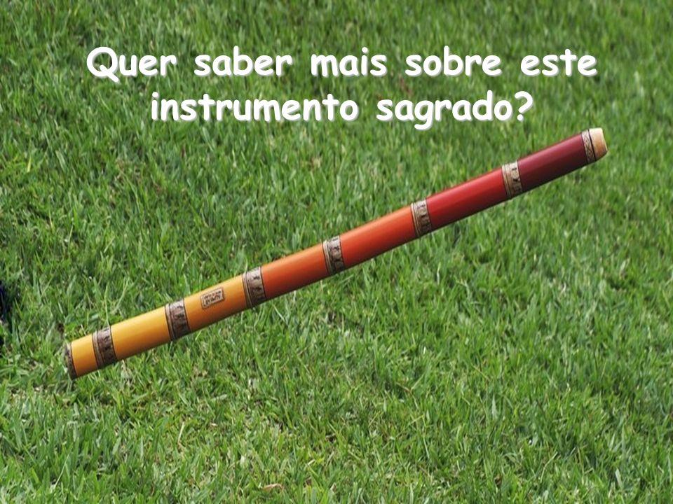 Existem muitas e muitas possibilidades sonoras com o Didgeridoo, sonoras com o Didgeridoo, e não apenas a que você está ouvindo agora. você está ouvin