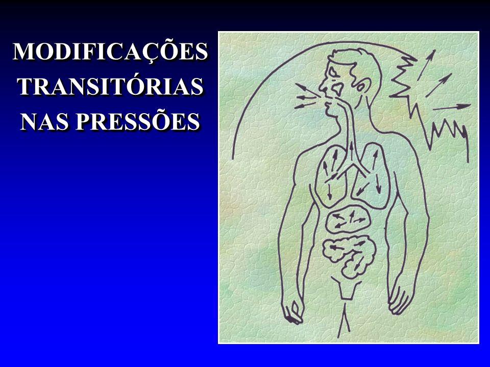 MODIFICAÇÕES TRANSITÓRIAS NAS PRESSÕES