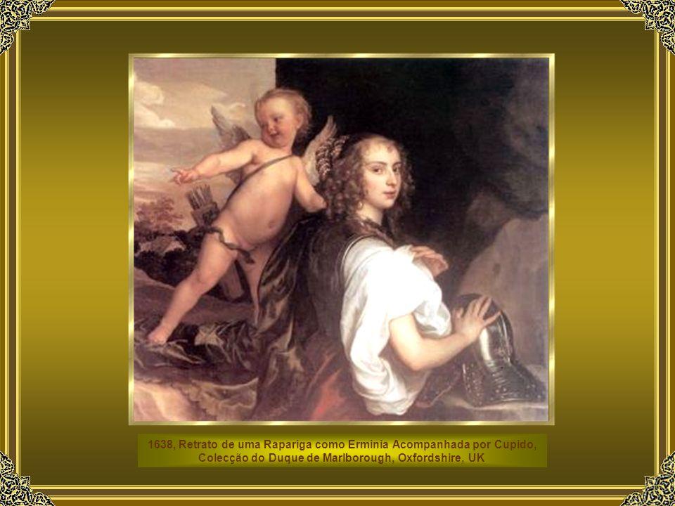 São também desta época os encantadores retratos infantis como o conhecido de Os Filhos de Carlos I ( Turim, Galeria Sabauda ). Aqui, no esplendor séri