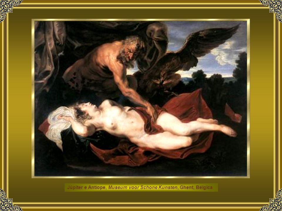 Júpiter e Antíope, Museum voor Schone Kunsten, Ghent, Bélgica