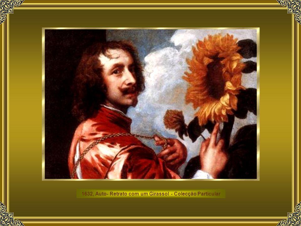 1632, Auto- Retrato com um Girassol - Colecção Particular