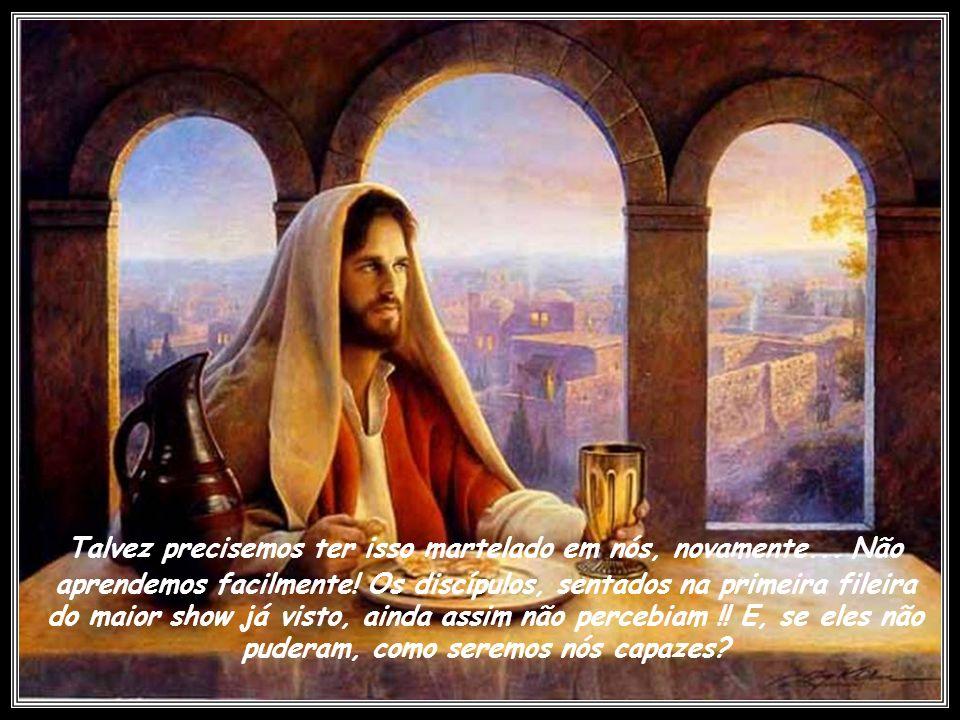 O s pais pensam que exercitam uma paciência ilimitada com seus filhos. Jesus está dizendo: Olá! Você está ouvindo? Toc, toc. Alguém em casa? Não me ad