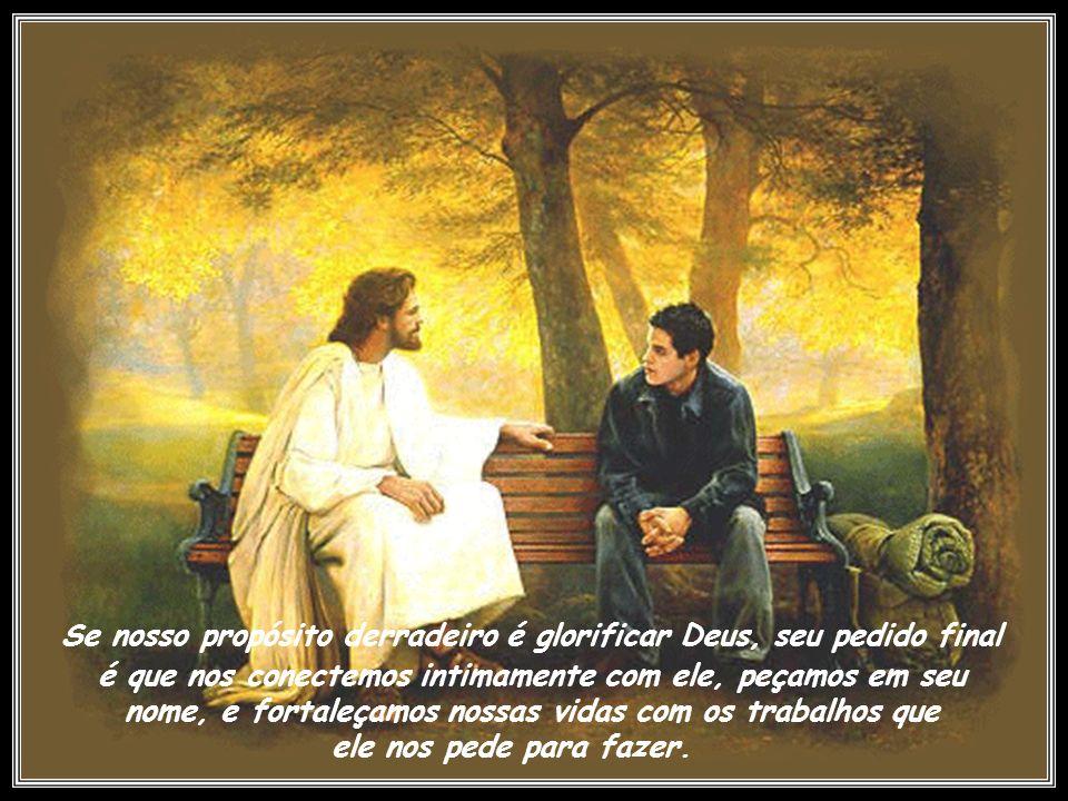 Nosso propósito como crentes é realizar trabalhos maiores aqui do que até mesmo Cristo fez. Isso parece impossível agora. Tudo quanto pedirdes em meu
