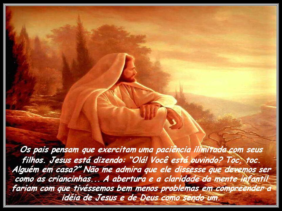 Mais uma vez, Jesus exercita sua paciência. Parecia impossível para os discípulos conceberem a unidade de Jesus com o Pai. Mesmo após todo aquele temp