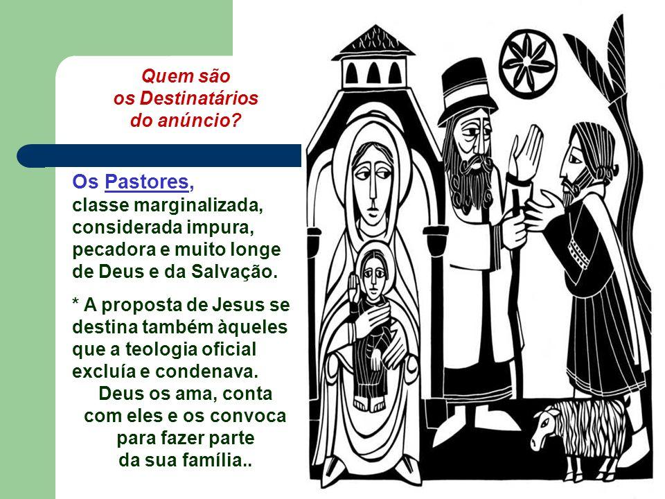 O Evangelho apresenta Maria, recebendo feliz a visita dos PASTORES... e meditando em seu coração tudo o que falavam do Messias. (Lc 2,16-21) O texto n