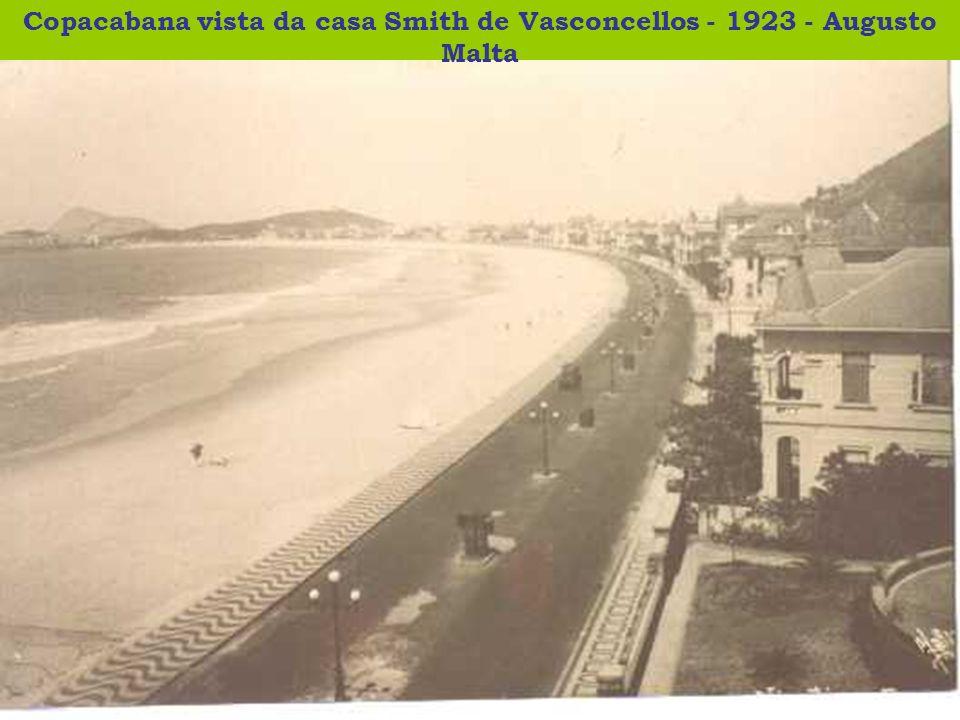 Copacabana vista da casa Smith de Vasconcellos - 1923 - Augusto Malta