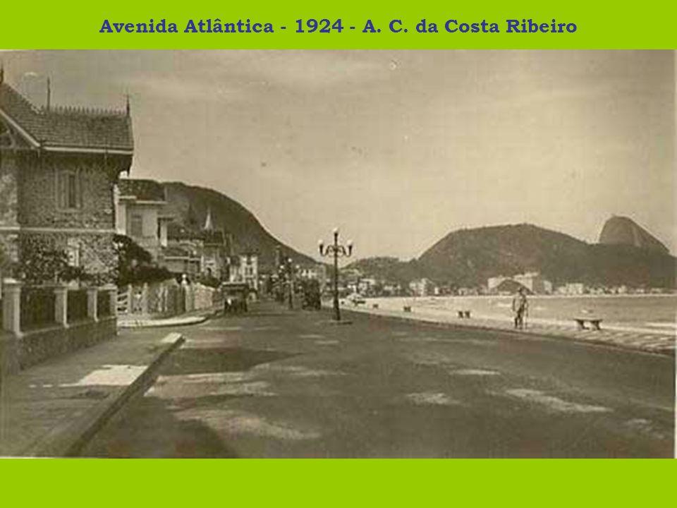 Avenida Atlântica - 1924 - A. C. da Costa Ribeiro