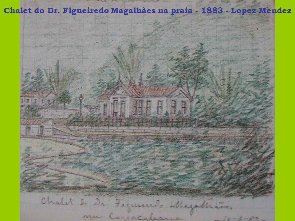 Chalet do Dr. Figueiredo Magalhães na praia - 1883 - Lopez Mendez