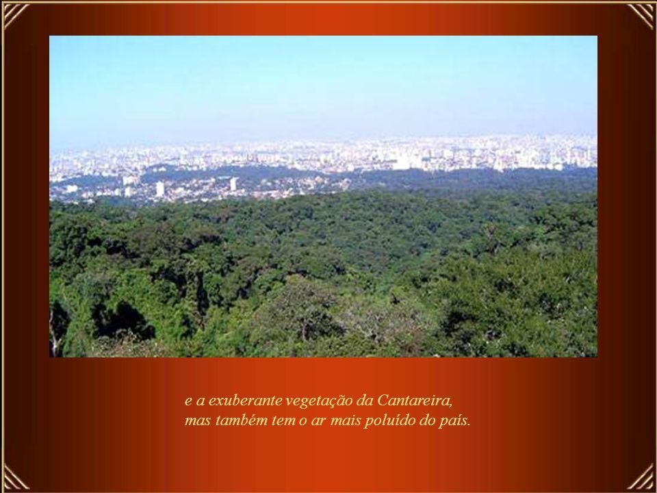São Paulo é um somatório de qualidades e defeitos, alegrias e tristezas, festejos e tragédias. Tem hotéis de luxo,como o Fasano, o Emiliano e o L'Hote
