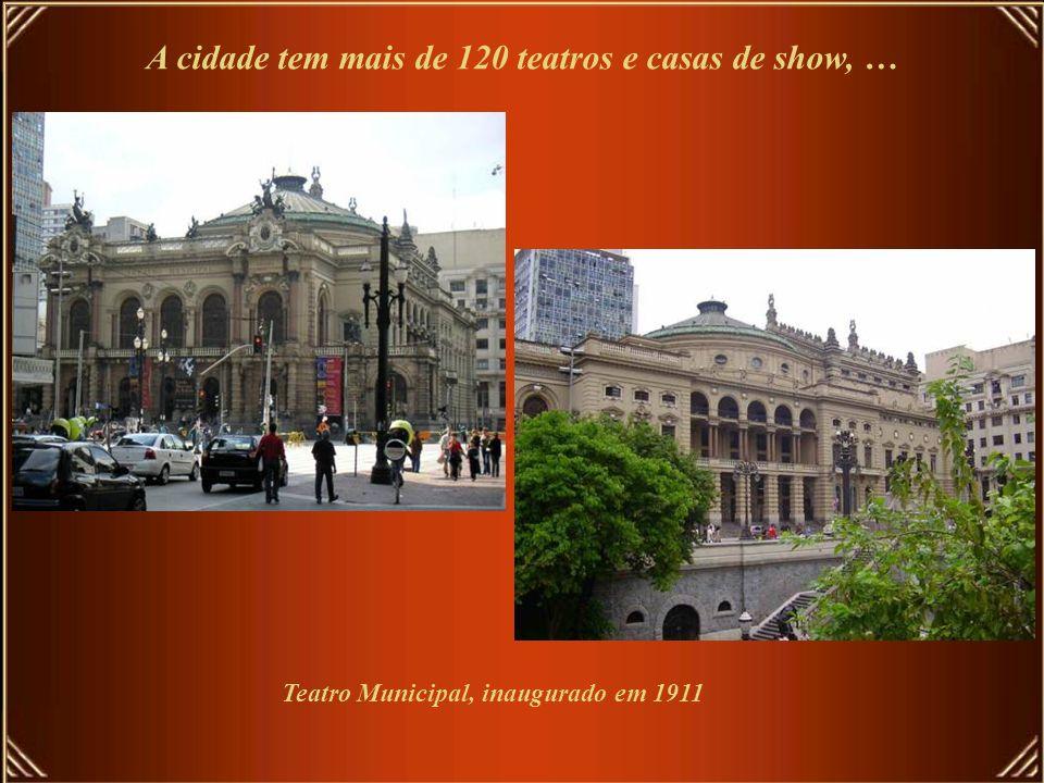 São Paulo é o maior Centro Cultural do País A taxa de alfabetização está em 95,4% da população