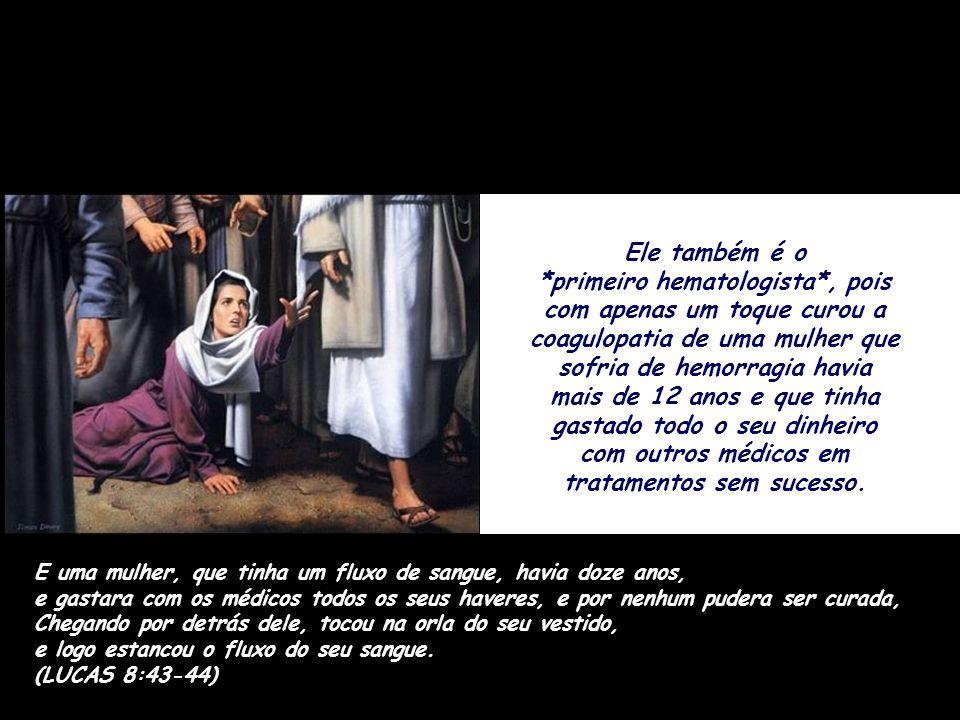 A primeira evidência científica sobre a hanseníase está na Bíblia! E Jesus é o *dermatologista mais sábio* da história, pois curou instantaneamente 10