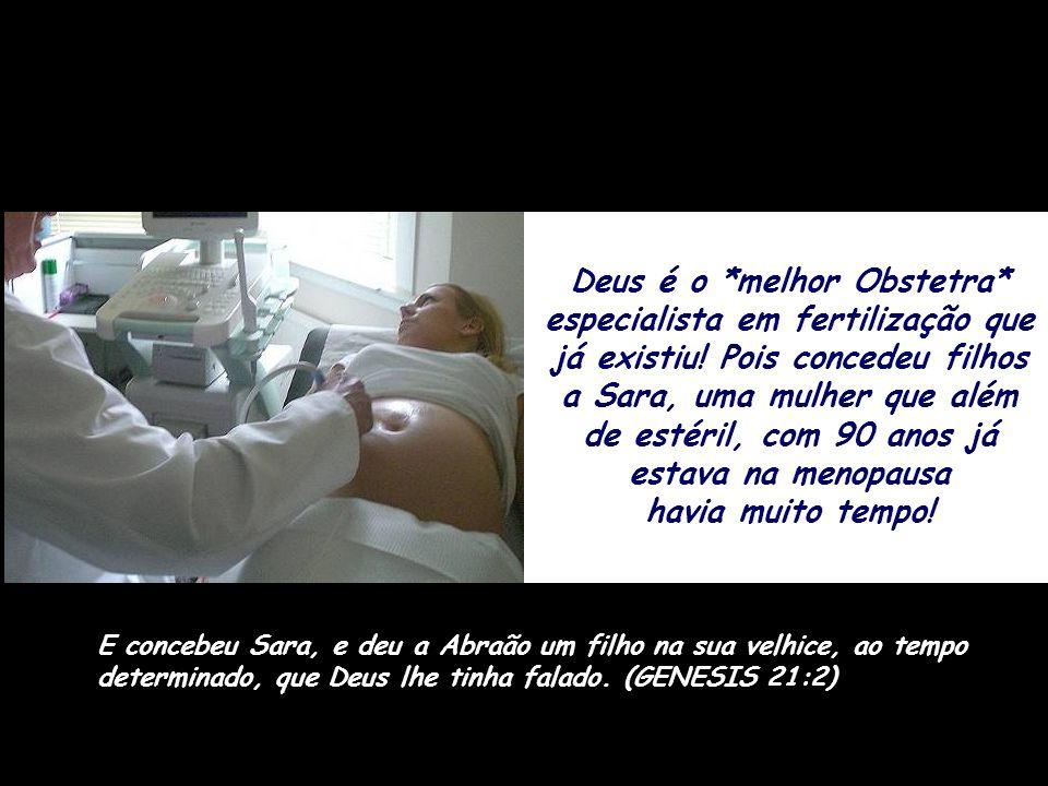 Ele também é o *primeiro Anestesista*, porque antes de retirar aquela costela fez *um profundo sono* cair sobre o homem. Então o SENHOR Deus fez cair