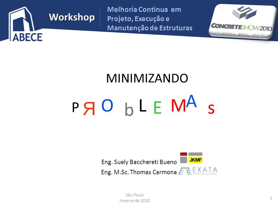 Workshop Melhoria Continua em Projeto, Execução e Manutenção de Estruturas PARA MINIMIZAR NÃO CONFORMIDADES DE CONCRETO Controle de Aceitação Laboratório de Controle Acreditado Tecnologista Reunião de Planejamento Tecnologista Seleção da Concreteira Visita à Usina Controle umidade agregados Equipamentos de Pesagem Cartas de Controle Especificação Resistência Consistência Módulo Agregado Tecnologista Projetista 32 Eng.